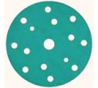 Круг шлифовальный SUNMIGHT FILM, Ø150мм, 14+1 отв., Р240 зелёные