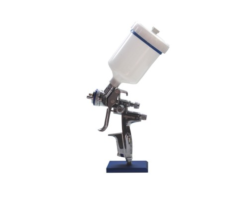Краскопульт JL827 HVLP (JH827)- профессиональный краскопульт, верхн пластик бачок 0,6л, сопло 1,4мм