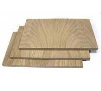 ДСтП 16мм 2ст. шпон дуб +бумага 2750*910мм (2,503кв.м.)  лист